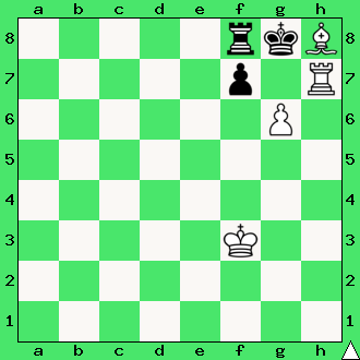 Szaja Kozłowski, Swiat Szachowy, 1931, studium, wygrana, białe wygrywają, lekcje szachowe, nauka szachów, diagram, szachownica, apronus, interaktywny podręcznik szachowy, król, goniec, wieża, szpila,