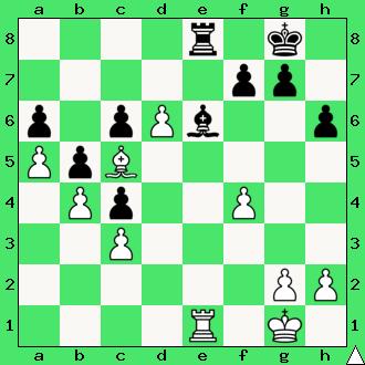studium, wygrana, białe wygrywają, lekcje szachowe, nauka szachów, diagram, szachownica, apronus, interaktywny podręcznik szachowy, król, goniec, wieża,