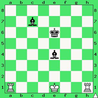 ćwiczenie, gra z komputerem, szachowa końcówka, wygrana, przekładany mat, diagram, apronus, interaktywny podręcznik szachowy, szach, bicie, posunięcie białych, zdobycie figury, przewaga dwóch jakości, wieża, goniec, król, lekcje szachowe, piękno szachów, para gońców, dwie wieże, dwa gońce,