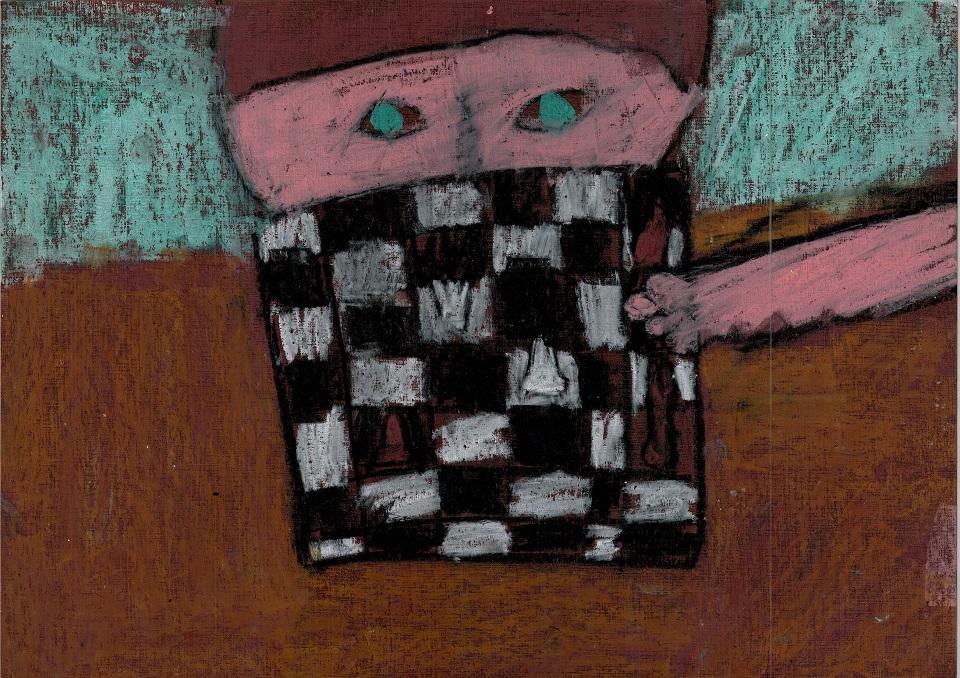 autorka, Karolina Wiśniewska, lat 9, Centrum Kultury w Łęcznej, konkurs plastyczny, królewska gra, szachy dla dzieci, nagroda, MDK Śródmieście Wrocław, listopad 2015, interaktywny podręcznik szachowy, lekcje szachowe, piękno w szachach, estetyka szachów,