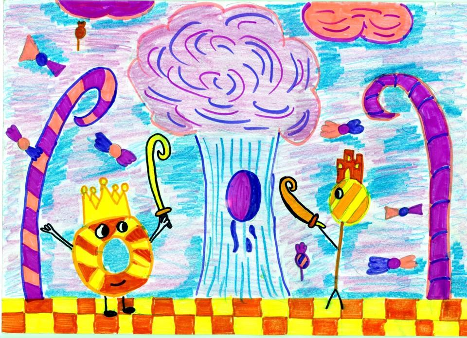 rysunek, autorka, Natalia Smolińska, 12 lat, Zespół Szkół Publicznych nr 3 w Żyrardowie, konkurs plastyczny, KRÓLEWSKA GRA, SZACHY dla dzieci, MDK Śródmieście Wrocław, listopad 2015, interaktywny podręcznik szachowy, piękno szachów,