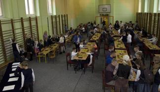 koło szachowe, inauguracja szkolnej ligi szachowej, Szkoła Podstawowa nr 27 im. K. K. Baczyńskiego w Kielcach,