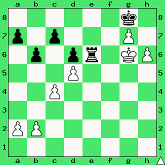 pion, pionek, pionki, daj mata w 2 ruchach, mat w dwóch posunięciach, zadanie, zadania szachowe, diagram, apronus, interaktywny podręcznik szachowy, król, lekcje szachów, nauka gry w szachy dla dzieci, epodrecznik,