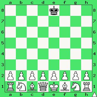 realizacja przewagi materialnej, wykorzystaj przewagę, gra z komputerem, interaktywny podręcznik szachowy, apronus, diagram, samotny król, ćwiczenie, lekcje szachowe, szachy dla dzieci,