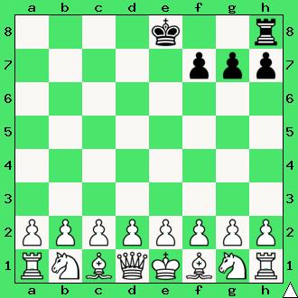 realizacja przewagi materialnej, wykorzystaj przewagę, gra z komputerem, interaktywny podręcznik szachowy, apronus, diagram, wieża, roszada, pionki, pion, król, ćwiczenie, lekcje szachowe, szachy dla dzieci,