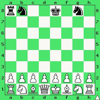 realizacja przewagi materialnej, wykorzystaj przewagę, gra z komputerem, interaktywny podręcznik szachowy, apronus, diagram, wieża, dwa skoczki, król, ćwiczenie, lekcje szachowe, szachy dla dzieci,