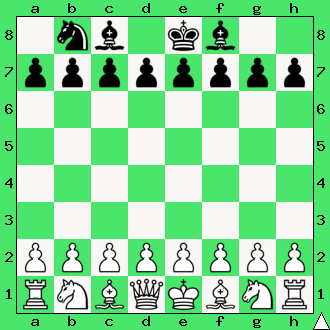 realizacja przewagi materialnej, wykorzystaj przewagę, gra z komputerem, interaktywny podręcznik szachowy, apronus, diagram, skoczek, gońce, król, ćwiczenie, lekcje szachowe, szachy dla dzieci,