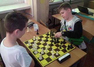 koło szachowe, pierwsze spotkania za nami, Szkoła Podstawowa nr 27 im. K. K. Baczyńskiego w Kielcach,