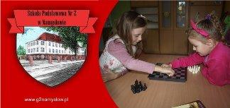 szkoła podstawowa nr 2 w namysłowie, gimnazjum nr 2 w namysłowie, szachy w szkole,