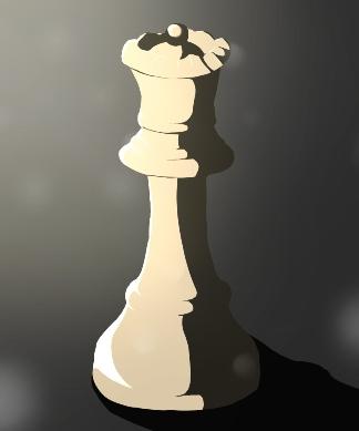 hetman, piękno szachów, grafika, rysunek, Urszula Ziarnowska, Gimnazjum nr 13 im. Unii Europejskiej we Wrocławiu, szachy dla dzieci, bierki szachowe, interaktywny podręcznik szachowy, matowanie hetmanem,