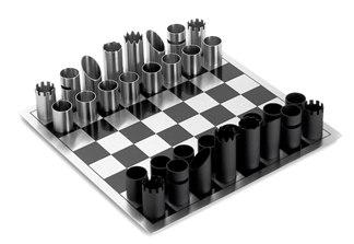 Szachy z metalowych rur, Marcos Eduardo Machado, Paulo Maurício Machado, Jan Philippi, fantastyczna gra w szachy rurowe,