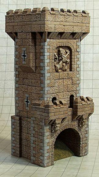 Wieża, Zdjęcie, Vail Marston,