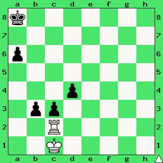 Andrzej Babiarz, 2018, studium, wieża, pionki, króle, diagram, apronus, interaktywny podręcznik szachowy, zadania szachowe studia, kompozycja szachowa,