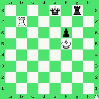 studium, wygrana, wieże, pionek, króle, diagram, apronus, interaktywny podręcznik szachowy, zadania szachowe studia, kompozycja szachowa,