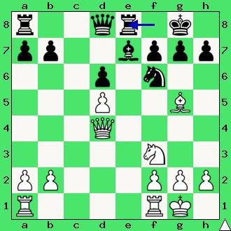 Adams, Torre, Nowy Orlean, 1920, odciągnięcie, diagram, apronus, interaktywny podręcnik szachowy, lekcje szachowe, nauka gry w szachy dla dzieci, partia szachowa, piękno szachów, taktyka, kombinacja, ofiara, poświęcenie, przeciążenie, słabość 8 rzędu, brak furtki, obrona Philidora, centralizacja hetmana,