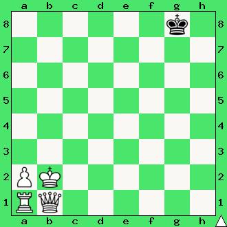 matuje para ciężkich figur, hetman i wieża, mat w jednym ruchu, białe dają mata w 1 posunięciu, diagram, apronus, interaktywny podręcznik szachowy, lekcje szachowe dla dzieci, matowanie hetmanem i wieżą, mat przekładany, schodkowy, przekładaniec, kroczący,
