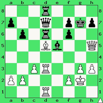 złap czarnego gońca, diagram, apronus, interaktywny podręcznik szachowy, Zbigniew Jaśnikowski, Marek Świerczewski, Wrocław, 1981, lekcje szachowe, nauka gry w szachy dla dzieci, taktyka, piękno szachów,