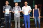 Najlepsi zawodnicy IX Turnieju Rodzinnego rozegranego w MDK Śródmieście we Wrocławiu 21.04.2018.