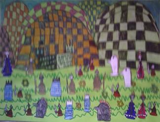 konkurs plastyczny, bajkowy świat szachów, miesięcznik mat, edukacja przez szachy w szkole, polski związek szachowy, rysunek, praca plastyczna, kurs interaktywny szachydzieciom.pl, bierki szachowe, szachownica, zamek, kwiatki,