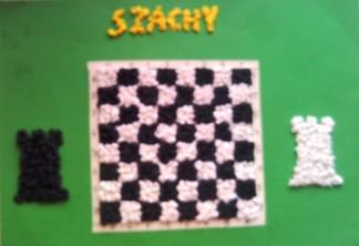 konkurs plastyczny, bajkowy świat szachów, miesięcznik mat, edukacja przez szachy w szkole, polski związek szachowy, rysunek, praca plastyczna, kurs interaktywny szachydzieciom.pl, dwie wieże, szachownica,