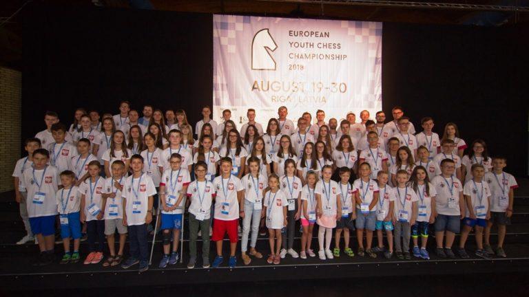 Mistrzostwa Europy Juniorów w szachach, Ryga, 19-30.08.2018, Polska reprezentacja,
