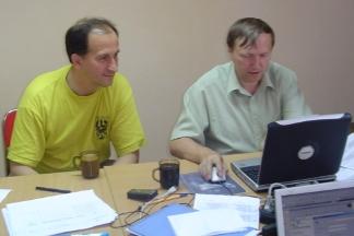 Wiesław Janocha i Zenon Chojnicki, 7.07.2005.