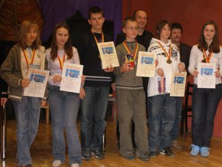 Marta Wolska, Alicja Stankiewicz, Rafał Ratajczyk, Aleksander Łukasiewicz, Robert Korpalski, Krzysztof Kulczycki, Bogusław Ukleja, Aleksandra Borodziuk, MDK Śródmieście Wrocław, 26.05.2007.