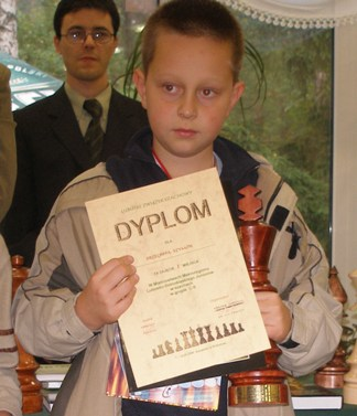 Szymon Brzechffa, 1 miejsce, Mistrzostwa Makroregionu Juniorów, Karpicko, 7-14.10.2006.