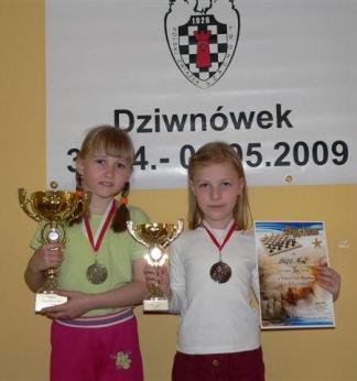 Agata Dwilewicz i Zofia Frej, Dziwnówek, 4.05.2009.