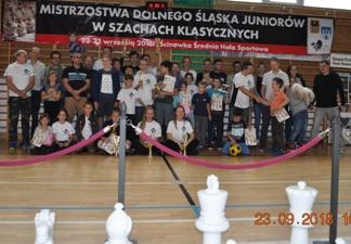 Ekipa MUKS MDK Śródmieście Wrocław (bez kilku osób), Mistrzostwa Dolnego Śląska Juniorów, Ścinawka Średnia, 23.09.2018.