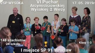 Drużyna SP nr 91 Wrocław, Aleksandra Brycka, Jakub Świebocki, Łukasz Uhryn, Franciszek Ilski, Alicja Szreter, Antoni Owsianik,