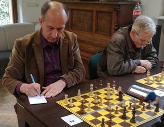 zapis szachowy, Wiesław Janocha, Ryszard Grossmann,