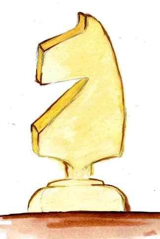 skoczek, rysunek, Natalia Bednarczyk, Gimnazjum nr 13 im. Unii Europejskiej we Wrocławiu,
