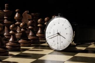 W szachy gra się na czas... Autor fotografii: Tomasz Konopka (MDK Śródmieście Wrocław – pracownia fotograficzna Piotra Kamińskiego).