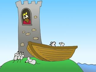 król i wieża