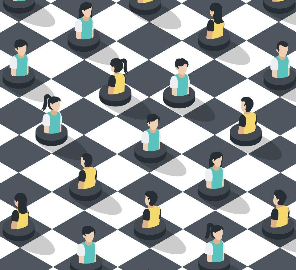 życie jest grą w szachy