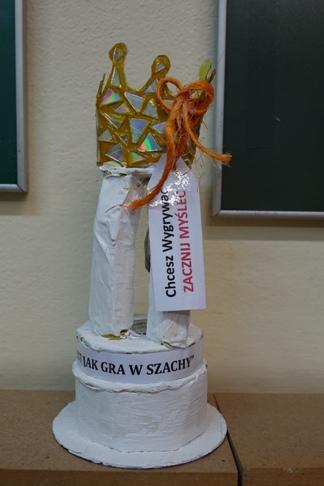 Praca z wystawy KRÓLEWSKA GRA - SZACHY, MDK Śródmieście Wrocław, listopad 2015. Fot. Wojciech Zawadzki.