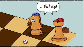 Chess meets baseball