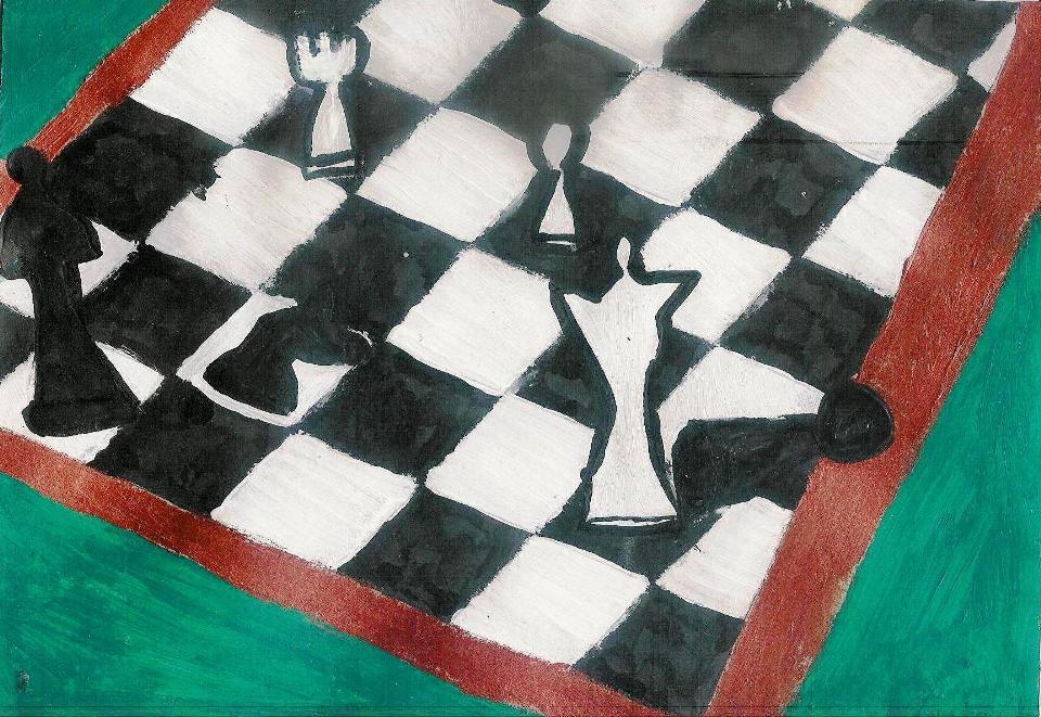 Autorka rysunku - Zuzia Kupis, lat 8 (Młodzieżowy Dom Kultury Śródmieście we Wrocławiu, pracownia plastyczna Bartosza Hęćki).