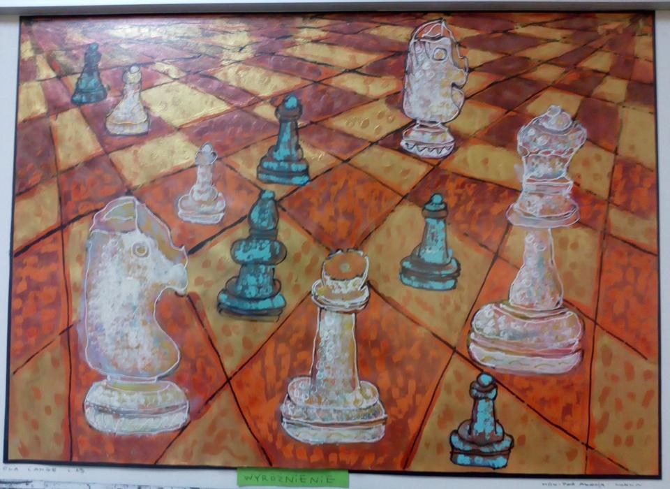 """2 Ogólnopolska Wystawa Pokonkursowa """"Królewska gra w szachy"""" 2021."""